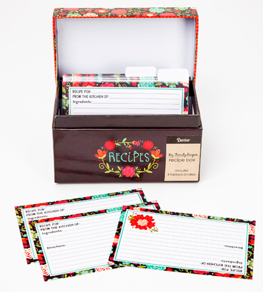 Recipe box & card set