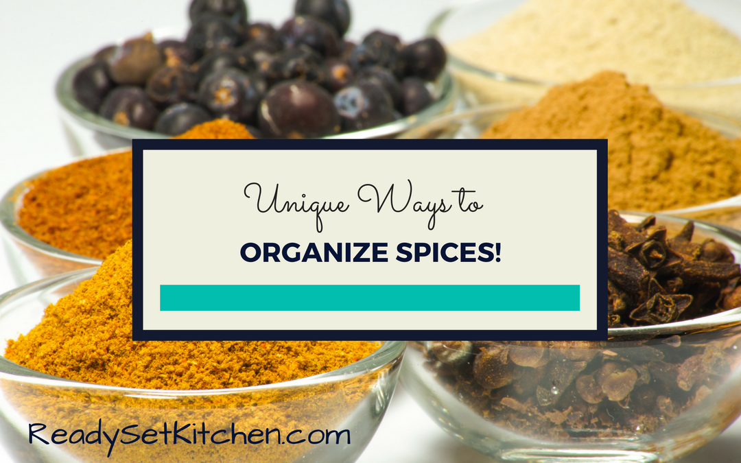 Unique Ways to Organize Spices