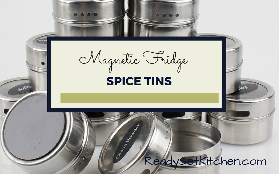 Magnetic Fridge Spice Tins-NEW PRODUCT!